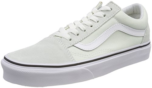 Vans Old Skool, Sneaker Donna, Verde (Blue Flower/True White Q6l), 39 EU