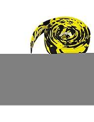 Cinta Manillar carretera Veroda Racing bicicleta abrigo + enchufe Amarillo amarillo