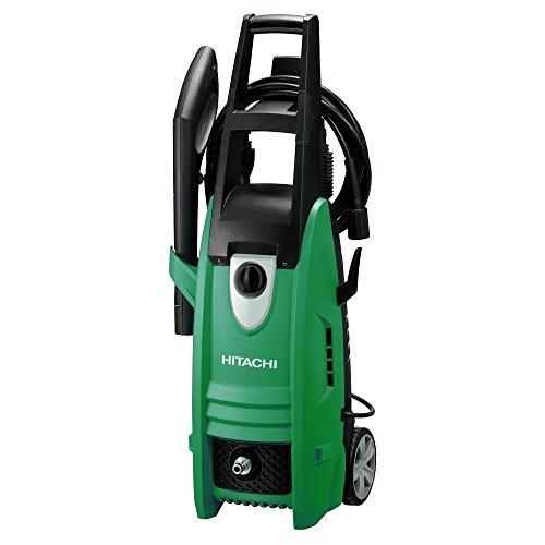 Hitachi AW130 Vertical Eléctrico 360l/h 1600W Negro, Verde Limpiadora de alta presión o Hidrolimpiadora - Limpiador de alta presión (Vertical, Eléctrico, 10 m, Negro, Verde, 360 l/h, 90 bar)