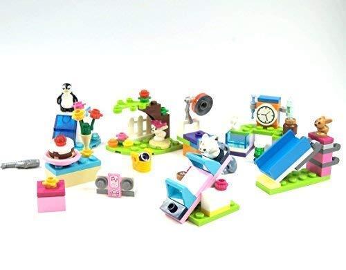 LEGO Friends Set mit viel Zubehör Hase Pinguin Tier (Lego Set Pinguin)