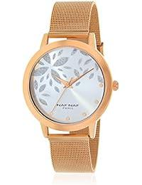 Naf Naf Reloj de cuarzo Woman Naf Naf D Iprg/Cuivré Strass Iprg Band/Cuivré Brac Wr 40 mm