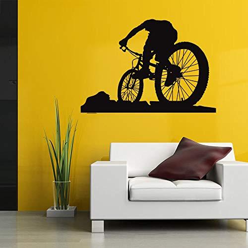 Wandtattoos & Wandbilder Wandtattoo Mountainbike Persönlichkeit Kreative Wandaufkleber Wohnzimmer Dekoration Wandaufkleber