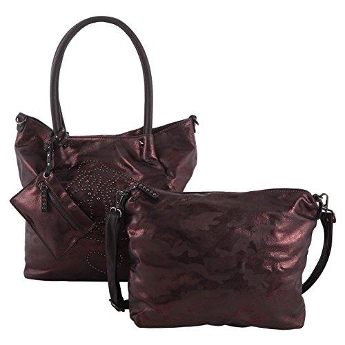 ag in Bag Shopper groß Hochformat - bordo ()
