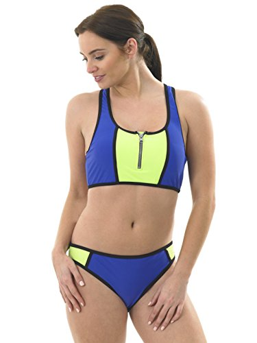 cdaae5d7b6742 Hot Honi - Coordinato - Donna Blu reale/lime 46