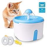 Best Fuentes de agua del gato - WOWGO Fuente de Agua automática para Gatos, Dispensador Review