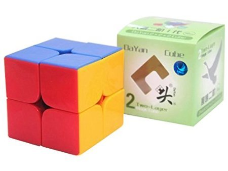 DaYan Zhanchi 2x2 Stickerless Speed Cube Puzzle, 50 mm  available at amazon for Rs.699