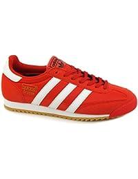 adidas Dragon Og, Zapatillas de Deporte Hombre, Rojo (Rojo / Ftwbla / Gum3), 42 EU
