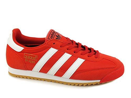 adidas Dragon Og, Scarpe da Corsa Uomo Red White