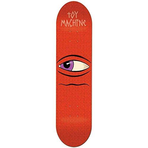 Toy Machine Skateboards Side Eye Skateboard-Brett/Deck, 21,6 cm -