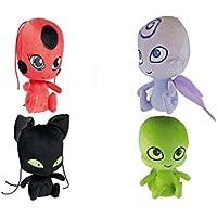 Bandai - Mini Peluches Ladybug