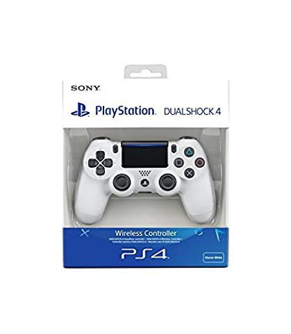 PlayStation 4 - DualShock 4 Wireless Controller, weiß (2016) (Ps Network Online)