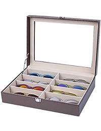 71a2f0520c Caja para Gafas Estuche para Gafas Soporte para Gafas Expositor Soporte  Exhibidor de Gafa Elegante para