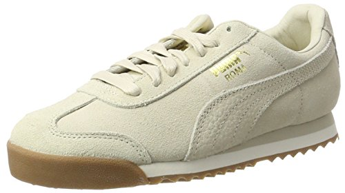 Puma Unisex-Erwachsene Roma Natural Warmth Sneaker, Beige (Birch-Whisper White), 47 EU (Roma Puma Herren)