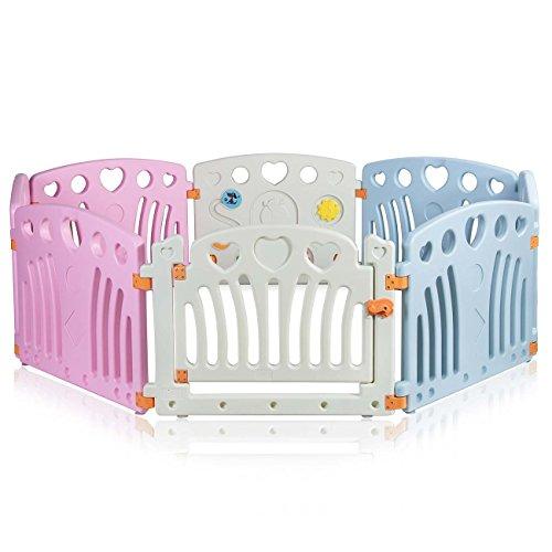 Baby Vivo Box Bambini Recinto Cancelletto Pieghevole Sicurezza Barriera Giochi