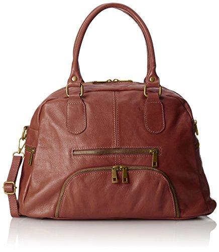 Chicca Borse , sac à main femme - Marron (marron)