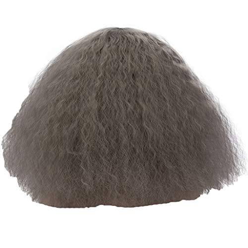 (kashyk Damen Perücke langes Haar + lockige Perücke, Flauschige Perücke, Maskerade synthetische Perücke Cosplay Perücke Osterperücke)