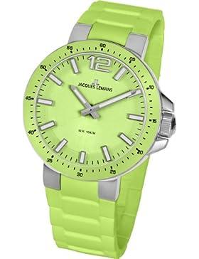 Jacques Lemans Damen-Armbanduhr XS Milano Analog Silikon 1-1707F