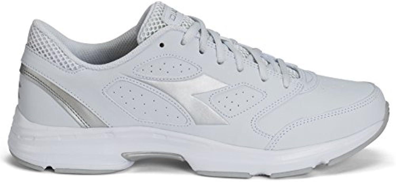 Schuhe Running Diadora Shape 7 Obermaterial suprellsoft Art.171470 46 White/Silver