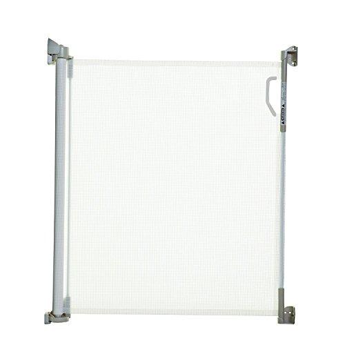 Stork - Verja retráctil (blanco), 85x140cm