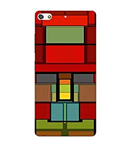 For Gionee Elife S7 abstract seamless pattern, stained glass imitaion Designer Printed High Quality Smooth Matte Protective Mobile Case Back Pouch Cover by APEX
