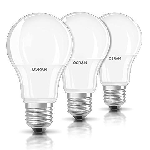 OSRAM ampoule LED E27 BASE Classic A / 9 W