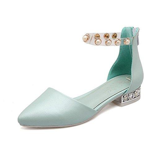 Sandálias De Poliuretano Menina Adee Pérola Zipper Azul