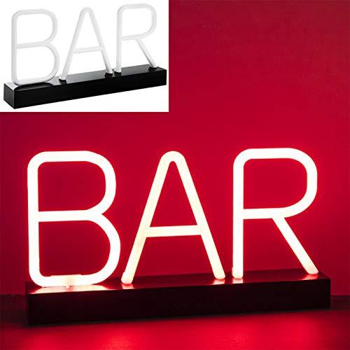 Lesser & Pavey - Lámpara de neón con forma de barra