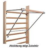 Klimmzugstange für Sprossenwand Reckstange Klimmzug Bauchtrainer Turnstange 70cm