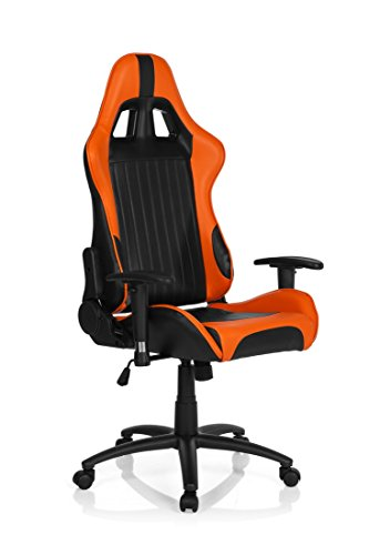 HJH Office 729070 Gaming – Silla Monaco II con reposabrazos