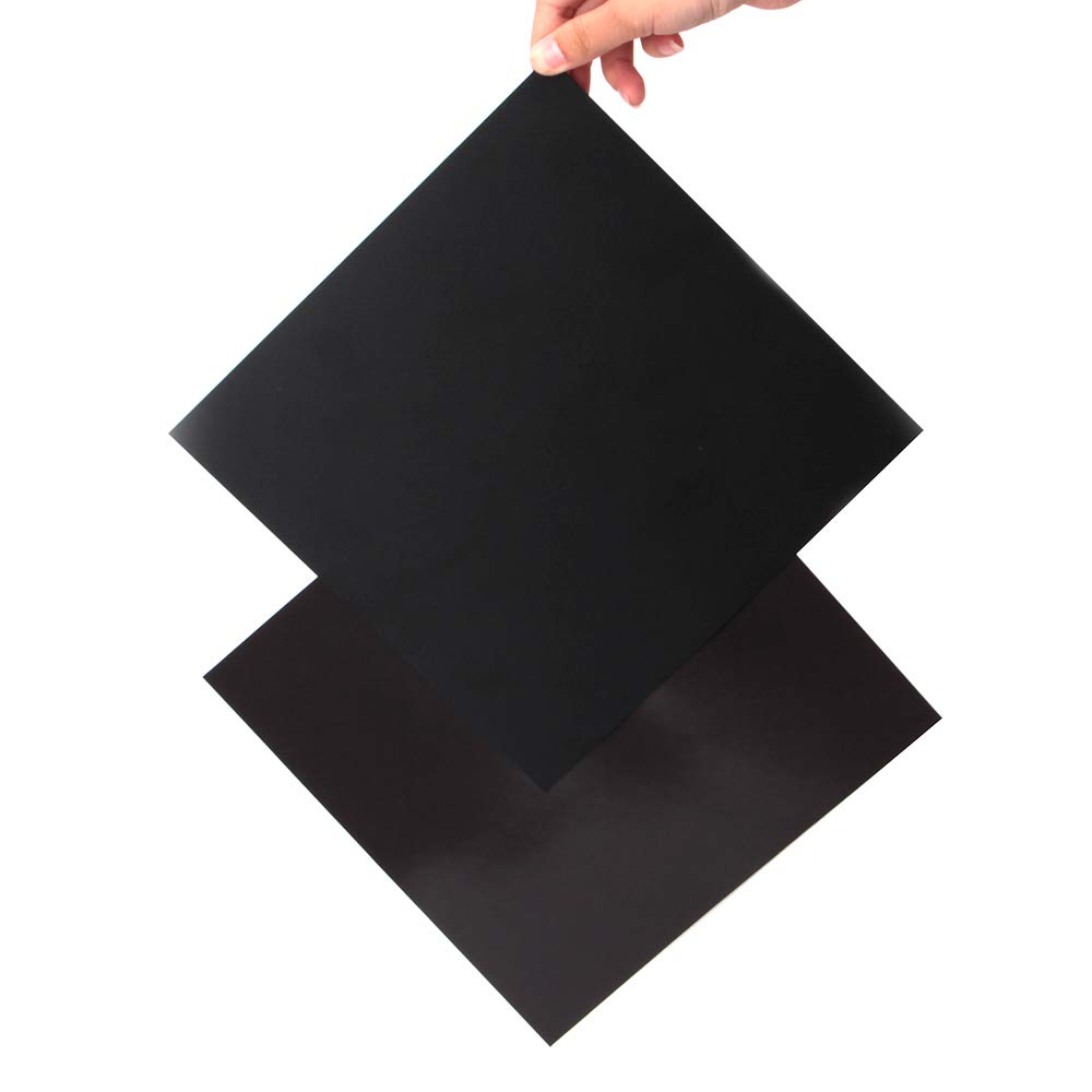 mise à niveau 3d plate-forme d'imprimante, 9,2 x 9,2 à New Flex magnétique + Plateau de surface des Feuille de 2 en 1 avec support adhésif 3 m pour Creality Ender 3 imprimante