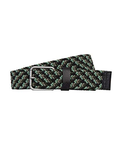 Volcom Krupa Web Belt, Man, Military, One Size