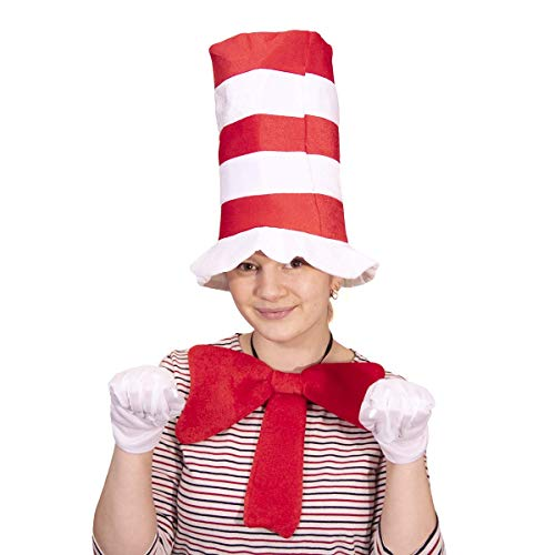Katze im Hut inspiriert 3-teiliges Set (Adult)