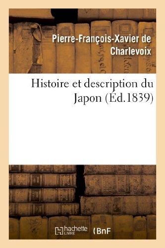 Histoire et description du Japon par Pierre-François Xavier de Charlevoix