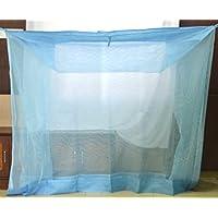 ANS Nylon Mosquito Net (Blue, XXL, 7 x 7 ft)