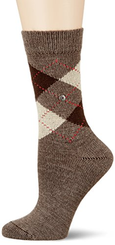 Burlington Damen Socken Whitby, Gr. 36/41, Braun (brown 5256)