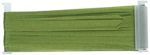 YLI Corporation 7mm 21/2yd Seidenband für Stickereien, Moos grün (7 Mm Seidenband)