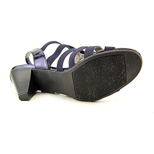 Karen Scott Niomii Stoff Sandale Navy