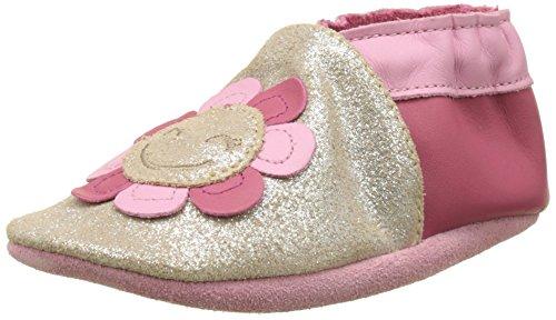 Robeez Marigold, Chaussures de Naissance Bébé Fille Marron (Bronze)