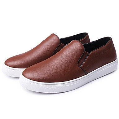 Chaussures d'hommes dehors / Party & soirée / Athletic / Trotteurs en cuir Casual Black / Brown Brown