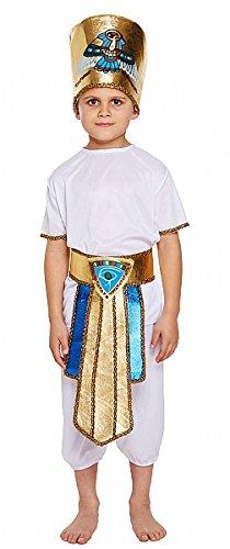 (Dress Up Kinderkostüm ägyptische Jungen, Größe L, 10-12 Jahre)