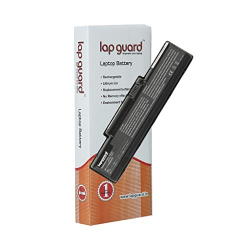 Lapguard 6 cell Replacement Laptop Battery For Acer Aspire 5740G Black