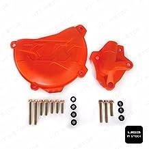 Naranja Cubierta de protección w/bomba de agua pantalla de embrague