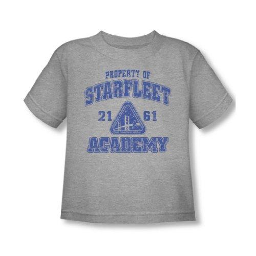 Star Trek - Old School Kleinkind T-Shirt in Heather, 2T, Heather