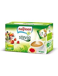 Natreen Edulcorante Granulado Sobre Stevia - 50 unidades