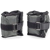 BodyRip 2 x 1.5Kg Leg Ankle Hand Wrist Weights Wraps Straps Bandage Gym Workout