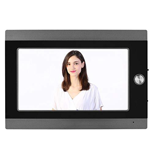 Digitaler Türspion,7 Zoll LCD Wifi IP Video-Türsprechanlage Türkamera PIR Bewegungserkennung Nachtsicht,Digitale Türspion HD Kamera Viewer Foto Sicherheitsüberwachung Türklingel mit APP Steuerung(EU) - Digitale Lcd-video