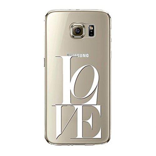 Coque Galaxy S6 Edge Plus, Vanki® Étui Transparent en TPU Silicone Housse Antichoc pour Samsung Galaxy S6 Edge Plus 16