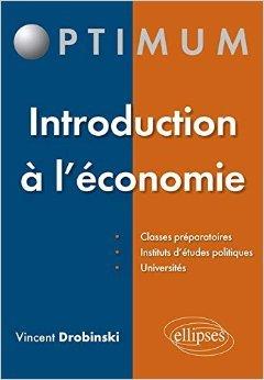 Introduction  l'conomie de Vincent Drobinski ( 1 septembre 2015 )