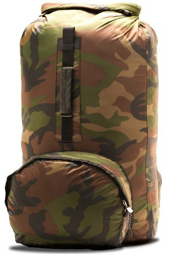 Aqua Quest Himal - 100% Waterproof Dry Bag Backpack - 20 L, Ultra-Light, Durable, Comfortable, Foldable, Compact - Camouflage by Aqua-Quest