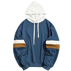 VRTUR Herren Kapuzenpullover Beiläufig Schlank Passen Reißverschluss Mit Tasche Outwear Bluse Sweatshirt Winterjacke Pullover